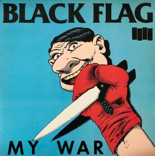 Black Flag ‎- My War (LP) (EX/EX-)